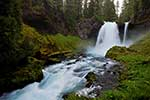Sahalie Falls - Oregon Waterfall Landscape by Gary Regner