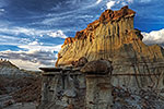Hoodoos - Bisti Badlands by Gary Regner