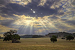 God Rays - Texas Landscape by Gary Regner